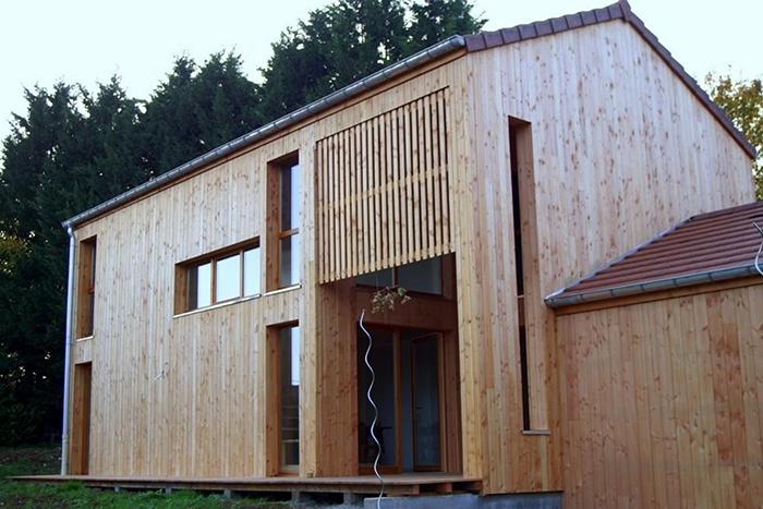 Maison Bois Franche Comté - Bertrand Construction Bois