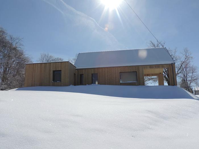 Maison Bois Franche Comté - Bertrand Bois Construction